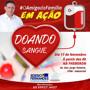 Vereador Edesio convida para campanha de doação de Sangue