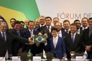 Bolsonaro diz a governadores que há medidas amargas, mas necessárias