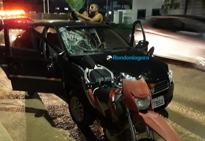 Fotos: Motorista bêbado é preso após causar acidente deixando dois homens em estado grave
