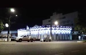 Prefeitura conclui decoração natalina no Mercado Cultural; luzes serão ligadas dia 4 de dezembro