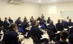 Policiais do 4º BPM participam de palestra alusiva a Campanha Novembro Azul