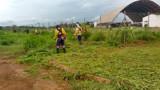 Márcio Oliveira cobra e a Prefeitura limpa área do Colégio Militar em Jaci Paraná