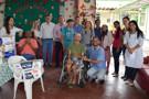 Sindafisco realiza doação para Casa do Ancião