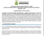 Instituto Agropecuário do Amazonas oferece 227 vagas com salários de até R$ R$ 6.570,95
