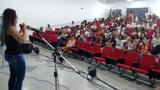 Mau uso das redes sociais é discutido em workshop no Festival Estudantil Rondoniense de Artes