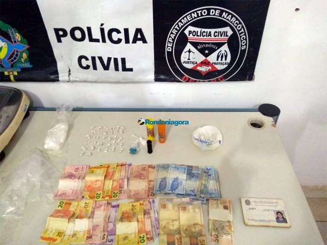 Mãe e filho são presos acusados de comandar tráfico no Jardim Santana