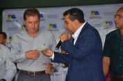 Garçon comemora entrega de equipamentos agrícolas para Porto Velho