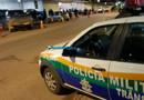 Motorista bêbado foge da Lei Seca e só para após intensa perseguição e incêndio no carro