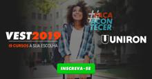 Faça acontecer: Uniron prorroga campanha com desconto de até 50% na mensalidade
