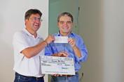 Deputado Aélcio da TV cumpre compromisso e entrega R$ 60 mil ao NACC