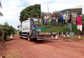 Catadores protestam para voltarem a trabalhar no lixão; Prefeitura explica situação