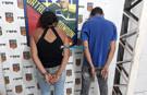 Dupla é presa após roubar acadêmica em Porto Velho