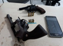 Bando é preso com duas armas e confessa que iria fazer assaltos na Zona Rural de Porto Velho