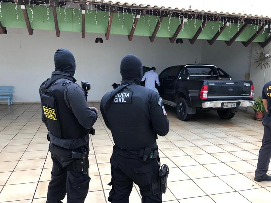 Confira lista de presos na Operação que prendeu secretário e adjunto da Semtran; Vídeo das prisões