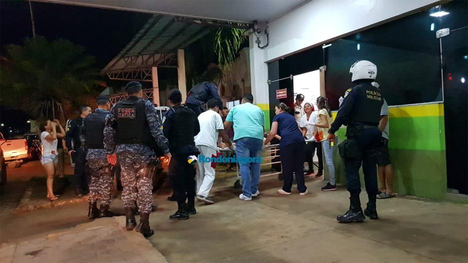 Policial civil e mulher são baleados e amigo é morto durante tentativa de assalto na Capital