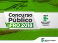 Definida nova banca de concursos suspensos no IFRO