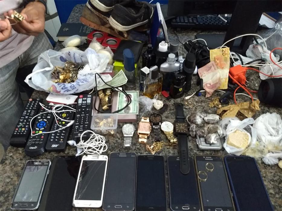 Perigosa quadrilha de Ji-Paraná é presa pela PM após vários roubos na região de Cacoal
