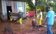Rio Machado chega próximo aos 11 metros em Ji-Paraná e famílias são socorridas