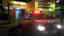 Homem é agredido a pauladas por desconhecido na Zona Leste da Capital