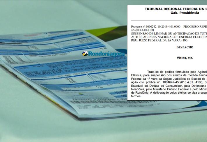 Desembargador cassa liminar e autoriza aumento da energia em Rondônia
