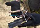 Vídeos e fotos: Criminosos usaram fuzis para atacar carro-forte e seguranças na BR-319