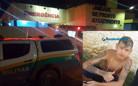 Adolescente é executado com vários tiros na frente de casa na Capital