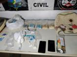 Família é presa com várias porções de cocaína em casa na Zona Leste