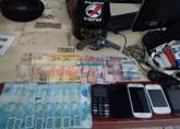 Quadrilha especializada em roubos de motos é presa na Capital com dinheiro