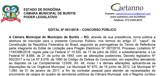 Câmara de Buritis abre inscrições para cargos de nível superior com salário de até R$ 4 mil