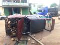 Motorista capota e abandona carro em Porto Velho