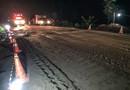 BR-364 é liberada para tráfego 24 horas após desmoronamento de trecho entre Ariquemes e Jaru