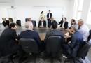 Comissão de parlamentares inspeciona trecho que cedeu na BR-364