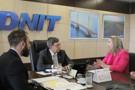 Em reunião com Jaqueline Cassol, diretor do Dnit garante solucionar interdição da BR-364