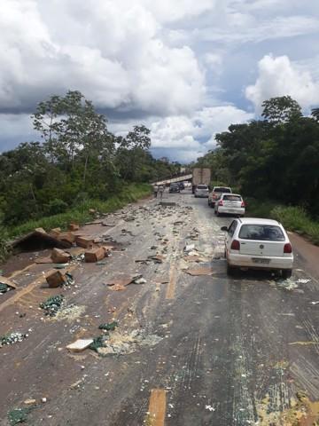 Em três dias, dez pessoas morreram em acidentes nas rodovias federais de Rondônia