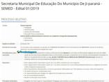 Semed de Ji-Paraná abre seleção para estagiários de nível médio técnico e superior