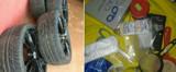 Homem é preso com drogas e dinheiro após furtar várias baterias de caminhão