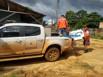 Onze famílias já foram retiradas de casa por causa da cheia do Madeira