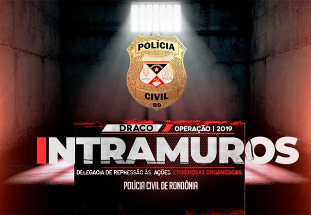 Polícia Civil cumpre 40 mandados de prisão contra facções criminosas em Rondônia e Mato Grosso do Sul
