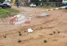 Em Ji-Paraná, homem é executado com mais de seis tiros