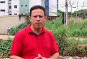 Vereador Edesio fiscaliza e alerta a população sobre as alagações na Capital