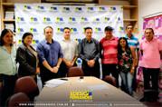 Vereador Edesio se reúne com presidentes de associações de bairros na Semusa