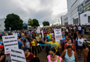 Protesto contra aumento de energia em Rondônia reúne centenas de pessoas na Capital; Fotos