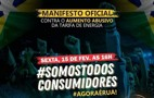 Protesto contra aumento da tarifa acontece às 16 horas em Porto Velho