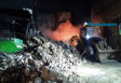 Vídeo: Prédio de loja de tintas é demolido pela Defesa Civil após incêndio
