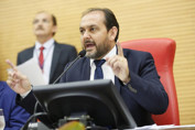 Laerte Gomes destaca diálogo e parceria com os poderes, na abertura dos trabalhos Legislativos
