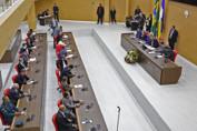 Deputado Laerte Gomes abre trabalhos da Assembleia Legislativa defendendo o diálogo