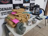 Denarc prende traficante com mais de 40 quilos de maconha em condomínio na Capital