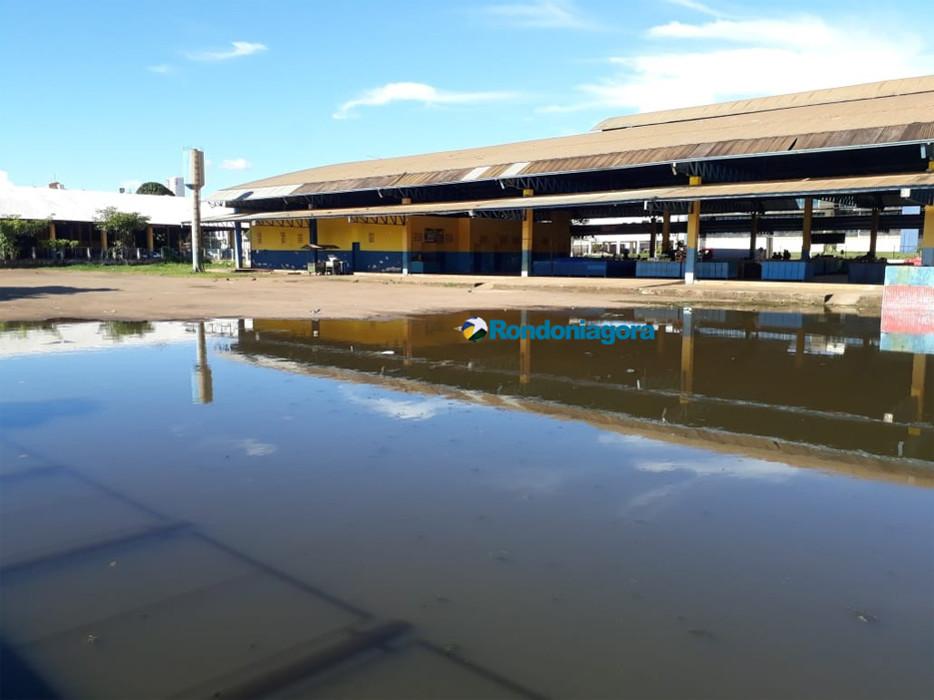 Feira do Cai N'Água muda de endereço a partir deste domingo por causa da cheia em Porto Velho