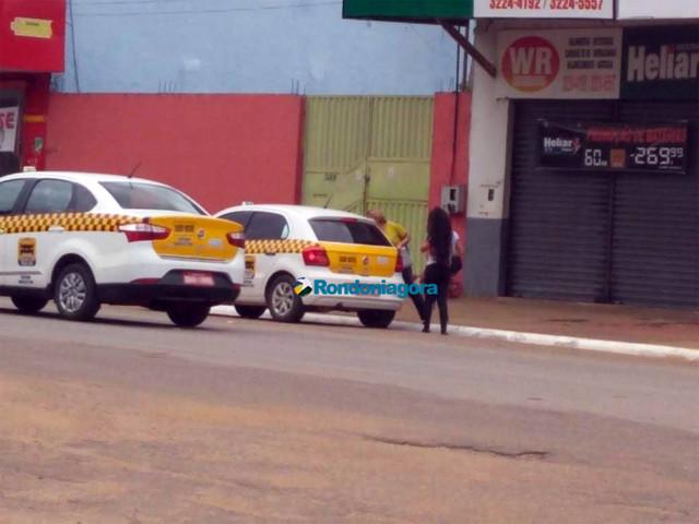 Semtran continua fiscalizando e multando táxis compartilhados em  Porto Velho