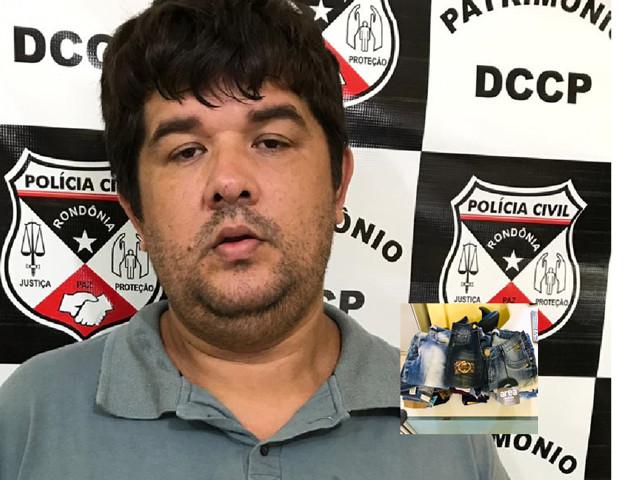 Suspeito furtar mais de R$ 90 mil em mercadorias de loja no interior é preso em Porto Velho